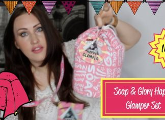 soap and glory gift set happy camper set