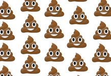 Poop-Emoji colonic irrigation scouse bird